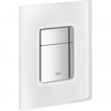 Grohe Skate Cosmopolitan przycisk uruchamiający szkło biały mrożony - 371823_O1