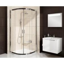 Ravak Blix kabina prysznicowa BLCP4-80 SABINA biała + transparent - 683491_O1