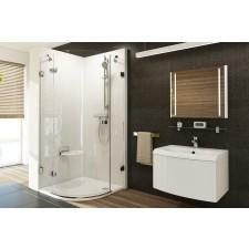 Ravak Brilliant kabina prysznicowa BSKK3-90 R chrom + transparent - 683386_O1