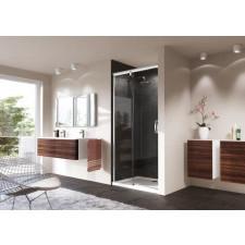 Huppe Aura Elegance drzwi suwane 1-częściowe ze stałym segmentem 150 cm 4-kąt - 465389_O1
