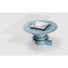 Kessel System 100 Wpust łazienkowy Classic z kratką ze wzorem owalu - 389925_O1