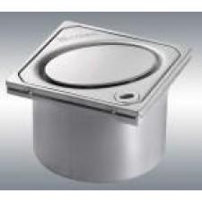 Kessel System 100 Wpust łazienkowy Classic z kratką ze wzorem owaluO1