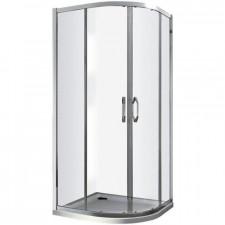 Huppe Aura Elegance 1/4 Drzwi suwane 80x200 białe - 488815_O1