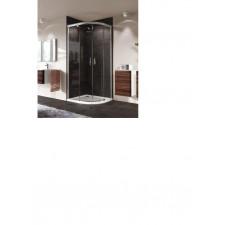 huppe aura elegance kabina półokrągła 90x90 drzwi suwane - 744045_O1