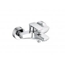 Kludi Pure&Style Bateria wannowo prysznica ścienna chrom - 767543_O1