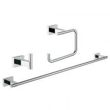 Grohe Essentials Cube zestaw akcesorii 3w1 set chrom - 595882_O1