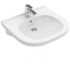 Villeroy & Boch O.novo umywalka vita 560 x 550 mm Weiss Alpin AntiBac CeramicPlus - 579722_O1