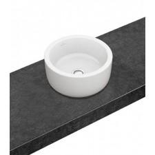 Villeroy & Boch Architectura Umywalka stojąca na blacie okrągła 400 mm - Weiss Alpin Ceramicplus - 464253_O1