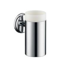 Hansgrohe Logis Classic Uchwyt ze szklanką do mycia zębów chromO1