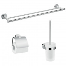 Hansgrohe Logis Universal Zestaw akcesoria łazienkowe 3w1, chrom - 781322_O1
