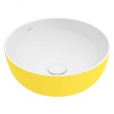 Villeroy & Boch Artis Umywalka nablatowa 430mm żółta - 595288_O1