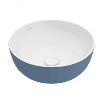 Villeroy & Boch Artis Umywalka stojąca na blacie 43 cm okrągła, bez miejsca na armaturę, bez przelewu - 687992_O1