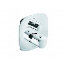 Kludi Ameo Dwuuchwytowa bateria wannowo-prysznicowa podtynkowa termostatyczna, chrom - 720194_O1