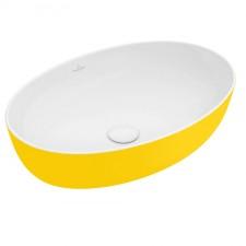 Villeroy & Boch Artis Umywalka stojąca na blacie 61 cm owalna, bez miejsca na armaturę, bez przelewu - 688012_O1