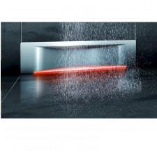 Kessel Scada Odpływ ścienny LED RGB, z pokrywą Wave - 611472_O1