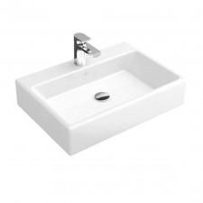 Villeroy & Boch Memento Umywalka wisząca szlifowana od spodu cienkościenna z przelewem 60 biała - 794454_O1