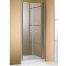Huppe 501 Design Drzwi wahadłowe do wnęki 70x180 cm chrom eloxal ani-plaque - 30358_O1