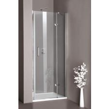 Huppe 501 Design Drzwi prysznicowe do wnęki/kabiny 85x190 chrom eloxal - 448492_O1