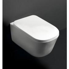 Kerasan Tribeca wc podwieszane szary matt - 766371_O1