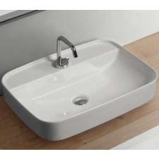 Kerasan Tribeca umywalka nablatowa 60x43 biała - 766366_O1