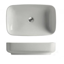 Kerasan Tribeca umywalka nablatowa 60x38 biała - 766098_O1