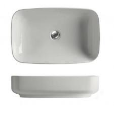 Kerasan Tribeca umywalka nablatowa 60x38 biała matt - 766360_O1