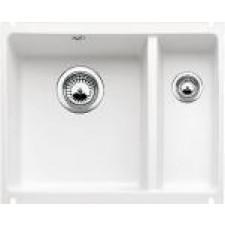 Blanco zlewozmywak ceramiczny SUBLINE 350/150-U biały połysk bez korka automatycznegoO1