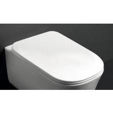 Kerasan Tribeca deska wolnoopadająca quick release biała matt - 766027_O1