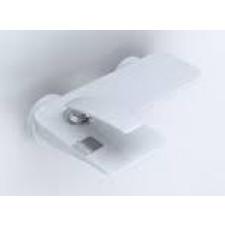 Kludi BALANCE Jednouchwytowa bateria wannowo-natryskowa, bez zestawu odpływowego, biały/chrom - 460480_O1