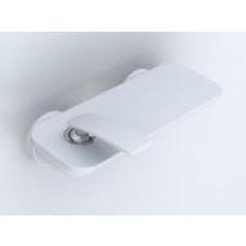 Kludi BALANCE Jednouchwytowa bateria natryskowa, bez zestawu odpływowego, biały/chrom DN 15 - 460487_O1
