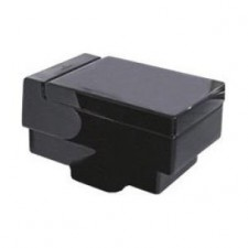 Villeroy & Boch Memento miska WC lejowa wisząca, 375x560 mm, o/ poziomy glossy black ceramicplus - 357286_O1