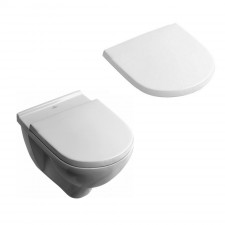 Villeroy & Boch O.Novo Miska wisząca WC 560x360 mm Weiss Alpin Ceramicplus (5660h1R1+9M38S101) - 468655_O1
