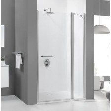 Sanplast drzwi jedno-skrzydłowe DJ2/PRIII-120-S biały W0 - 630796_O1