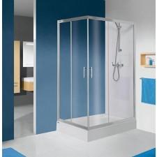 Sanplast kabina natryskowa KN/TX5b-80x90-S srebrny bł. W15 - 630380_O1
