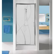 Sanplast drzwi rozsuwane D2/TX5b-100-S srebrny bł. W0 - 631904_O1