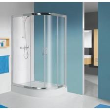 Sanplast kabina natryskowa kpl-L-KP4/TX5b-80x100-S srebrny bł. W15 - 630325_O1