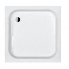 Sanplast Brodzik B/CL 80x80x15+STB biały - 634386_O1