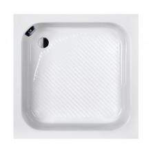 Sanplast Brodzik bahama beż s/CL 80x80x28+STB biały - 634658_O1