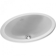 Villeroy & Boch Loop & Friends umywalka nablatowa, 570 x 405 mm, Weiss Alpin Ceramicplus - 9093_O1
