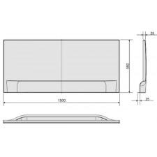 Sanplast Obudowa OWP/CLa 150 biały - 632864_O1