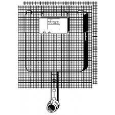 Viega Mono Slim Spłuczka podtynkowa WC głębokość 8cm - 450768_O1