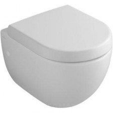 Villeroy & Boch Subway miska WC wisząca krótka, 355x480 mm, Weiss Alpin Ceramicplus - 12549_O1