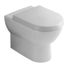 Villeroy & Boch Subway miska WC stojąca lejowa, 370 x 560 mm, odplyw poziomy, do montazu blisko sciany, Star White Ceramicplus - 12557_O1