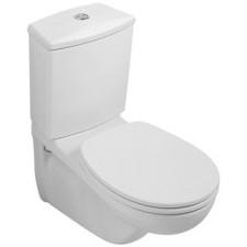Villeroy & Boch O.Novo miska do WC-kompaktu, 355 x 680 mm, Weiss Alpin CeramicplusO1