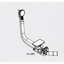 Kaldewei Syfon specjalny z emaliowaną pokrywą odpływu emaliowanym pokrętłem do ASYMMETRIC DUO biały - 540264_O1