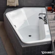 Duravit Paiova Wanna narożna lewa 177x130x44, do zabudowy, akryl sanitarny 5 mm, biała - 570430_O1