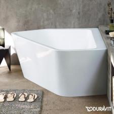 Duravit Paiova Wanna narożna lewa 190x140x44, akryl sanitarny 5 mm, biała - 570435_O1