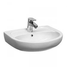Koło Solo umywalka 40cm z otworem biała - 6195_O1