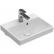 Villeroy & Boch Avento Umywalka mała prostokątna 45x37, bez otworu na baterię, z przelewem Ceramic Plus - 688278_O1