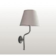 Kerasan Retro lampa ścienna, biały klosz - 462631_O1